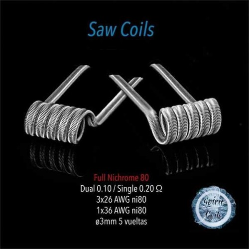 Spirit coils - Saw coil 0.10 Ohm