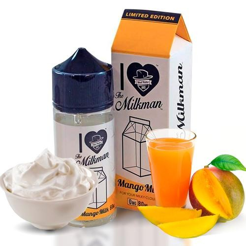 I Love The Milkman Mango Milk by Mad Hatter & Drip Club 80ML