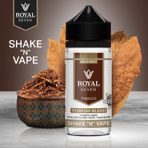 Royal Seven by Halo - Turkish Blend 50/50